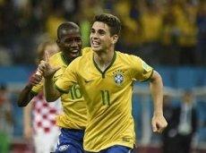 Оскар отлично проявил себя в первом матче ЧМ-2014 с Хорватией