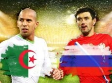 России устроит только победа в матче с Алжиром