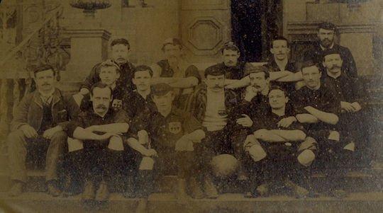 Первая команда была собрана в 1922 году