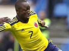 Армеро открывает счет матча Колумбия - Греция