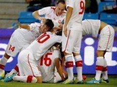 Швейцария победит Эквадор со счетом 2:1
