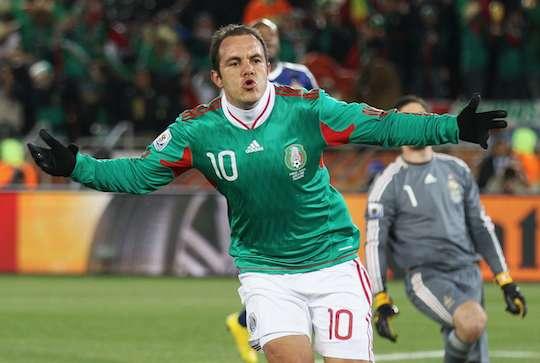 Легендарный Куатемок Бланко еще продолжает играть в мексиканском чемпионате.