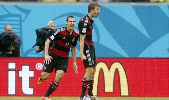 Германия справится с Алжиром