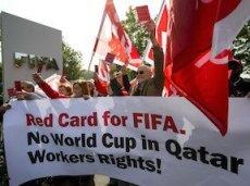 На стройках арен в Катаре были задействованы нелегальные рабочие, несколько из которых погибли из-за несоответствующих условий труда