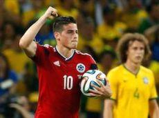 Родригес на ЧМ-2014 забил шесть мячей и отдал две результативные передачи