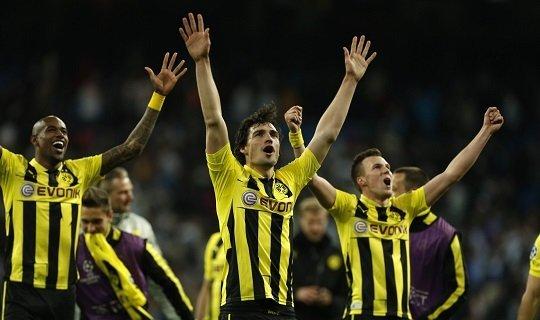 Дортмундцы не опускались ниже 2 места 4 сезона подряд
