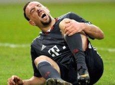 Травма также помешала Рибери выступить за сборную на чемпионате мира в Бразилии