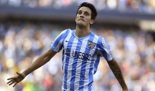 Луис Альберто забил единственный мяч «Малаги» в матче с «Атлетиком»