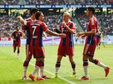 «Бавария» проиграла дортмундской «Боруссии» в матче за Суперкубок Германии
