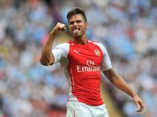 Жиру забил потрясающий по красоте гол в матче за Суперкубок Англии