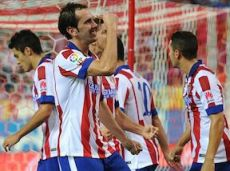 В матче прошлого тура с «Сельтой» Диего Годин опять забил после розыгрыша углового