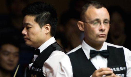 Джуньху не на пике и обычно проигрывал Бинхэму, но в Шанхае его ждет успех