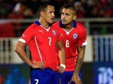 Чилийцы выиграют оба тайма