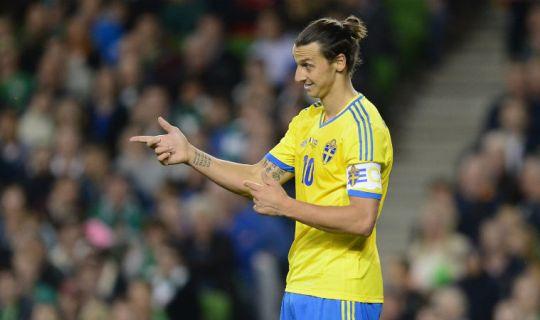 Ибрагимович может увеличить отрыв в списке лучших бомбардиров сборной