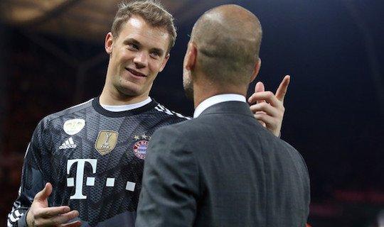Нойер в предыдущем матче Бундеслиги умудрился получить желтую за игру рукой в центре поля