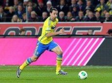 Ибрагимович - лучший бомбардир за всю историю сборной Швеции