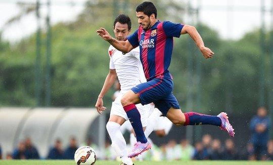 Суарес на досуге громит молодежную сборную Индонезии