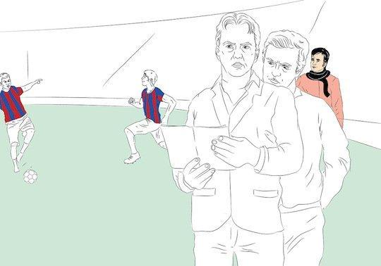 В прошлом веке сеу Жозе учился технике тренерского дела у ван Гала...