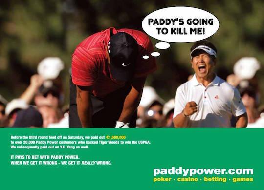 Лучший гольфист планеты подставил букмекера