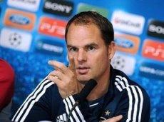 Команда Франка де Бура может в 5-й раз подряд попасть в плей-офф Лиги Европы
