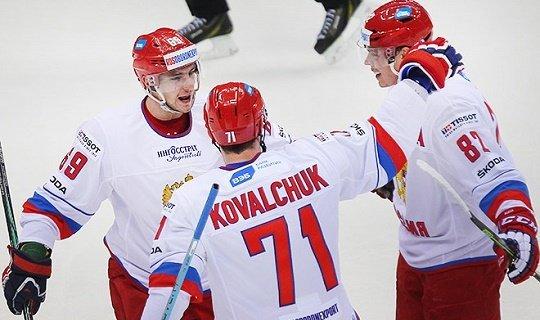 Сборная России в первом матче одолела финнов со счетом 2:0