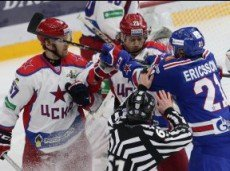В матче СКА - ЦСКА будет заброшено не менее 4 шайб, хозяева не проиграют
