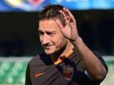 Итальянские СМИ считают, что Тотти не выйдет в старте