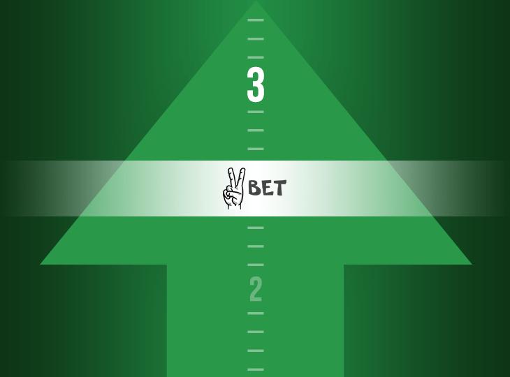 Оценка букмекерской конторы Vbet была повышена с «2» до «3»