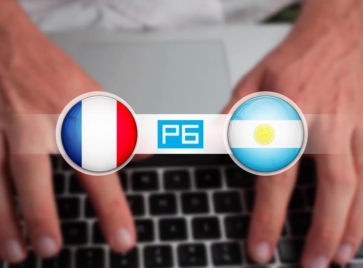 Текстовая трансляция матча Франция - Аргентина