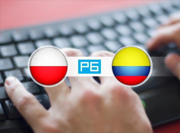 Текстовая трансляция матча Польша - Колумбия