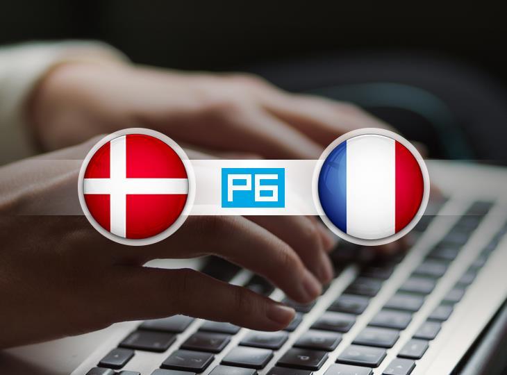 Текстовая трансляция матча Дания - Франция