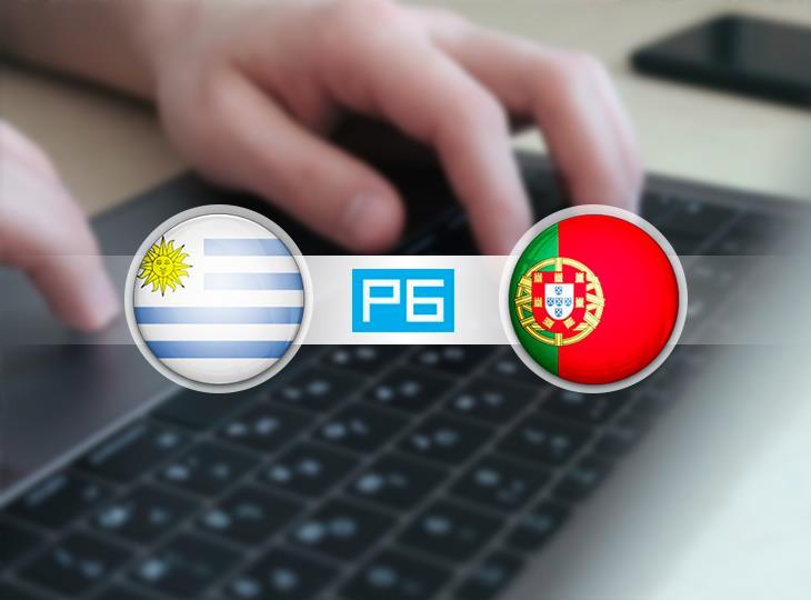 Текстовая трансляция матча Уругвай - Португалия