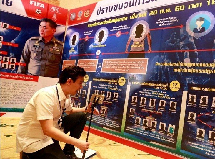 В Таиланде 15 игроков и судей обвиняются в организации договорных матчей