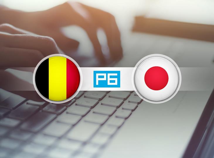 Текстовая трансляция матча Бельгия - Япония