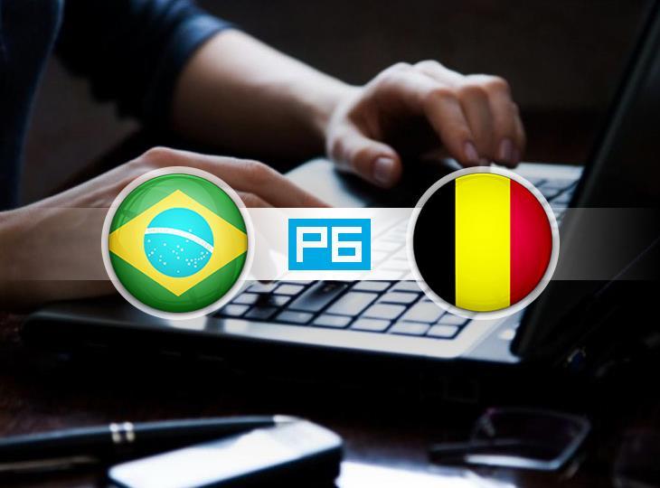 «РБ» проведет текстовую трансляцию матча Бразилия — Бельгия