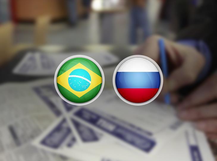 Букмекеры: игроки ставят на Бразилию и Россию перед четвертьфиналами ЧМ-2018