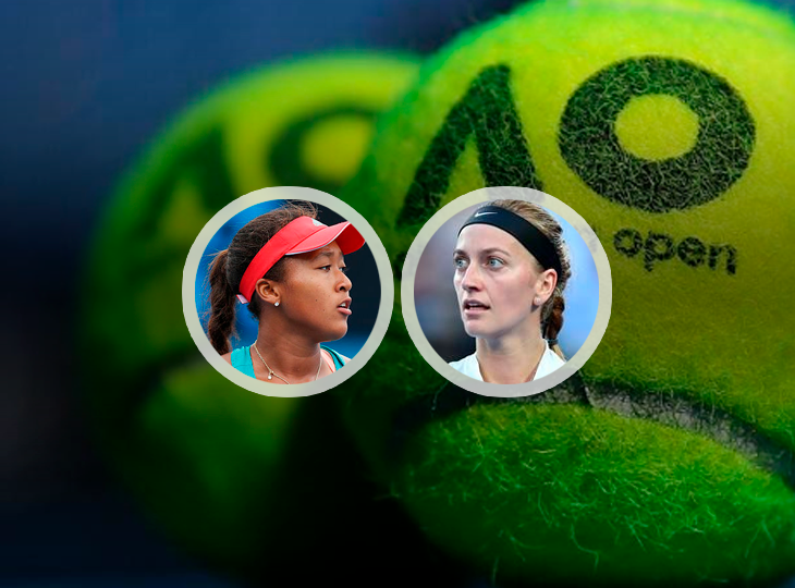 Bookmakers rated Osaka and Kvitova's chances in the Australian Open final