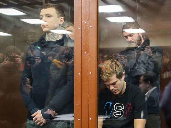 Букмекеры: Кокорин и Мамаев получат тюремные сроки?
