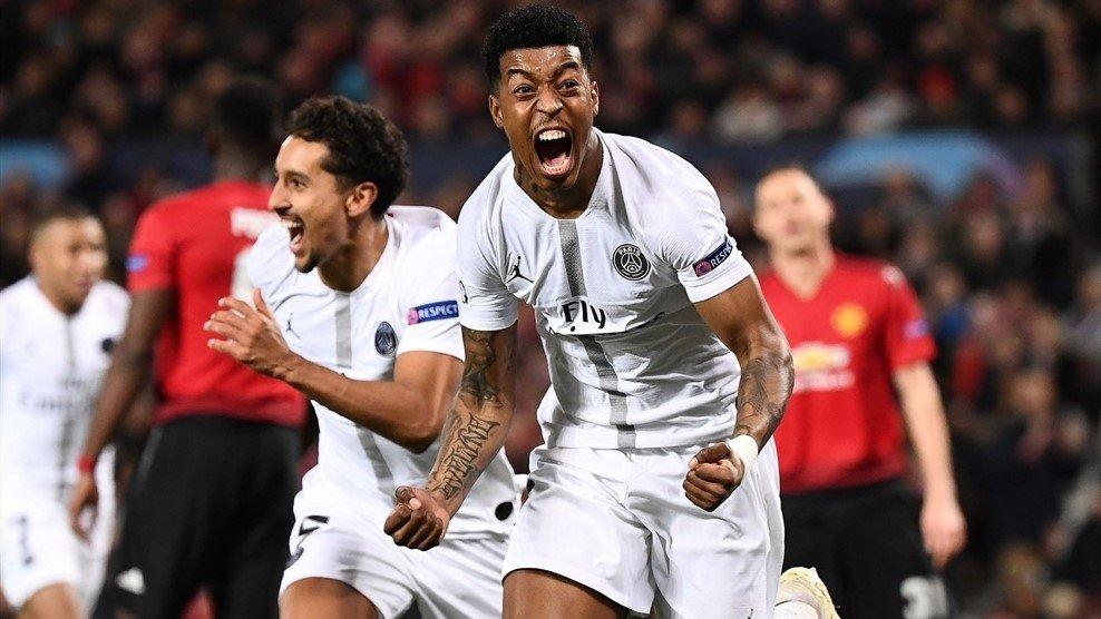«ПСЖ» - «Манчестер Юнайтед»