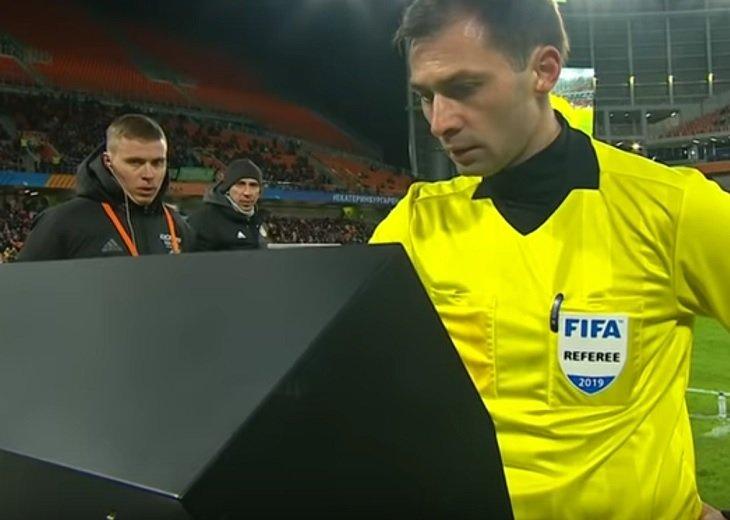 Первый случай использования VAR в российском турнире