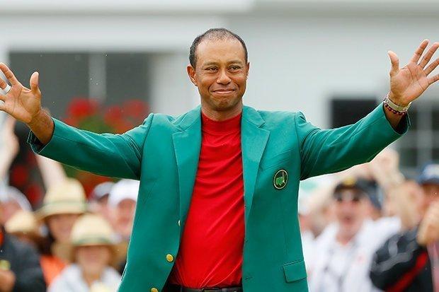 Тайгер Вудс снова примерил «Зеленый пиджак»