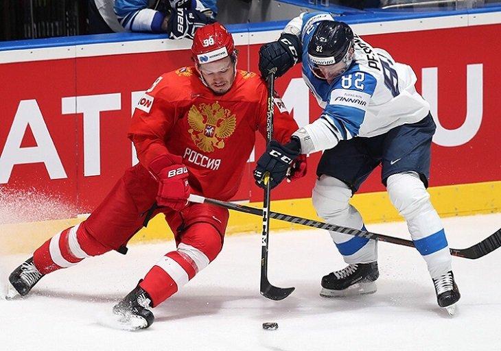 Сборная России проиграла Финляндии (0:1) в полуфинале чемпионата мира