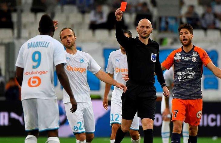 Балотелли получил четыре матча дисквалификации
