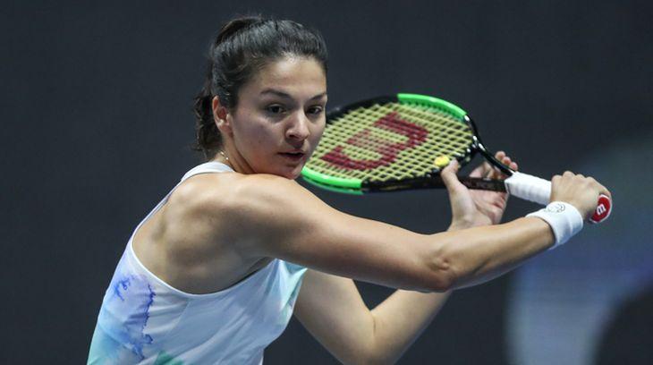 Гаспарян проиграла во втором круге на турнире WTA в Великобритании