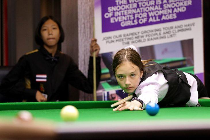 11-летняя Ксения Жукова переписала историю снукера