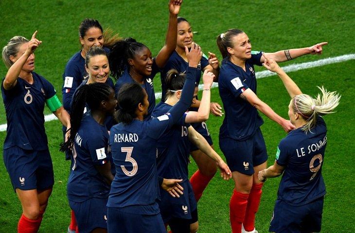 Женская сборная Франции по футболу