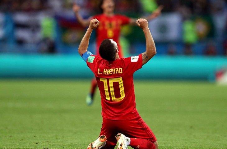 Лидер сборной Бельгии Эден Азар