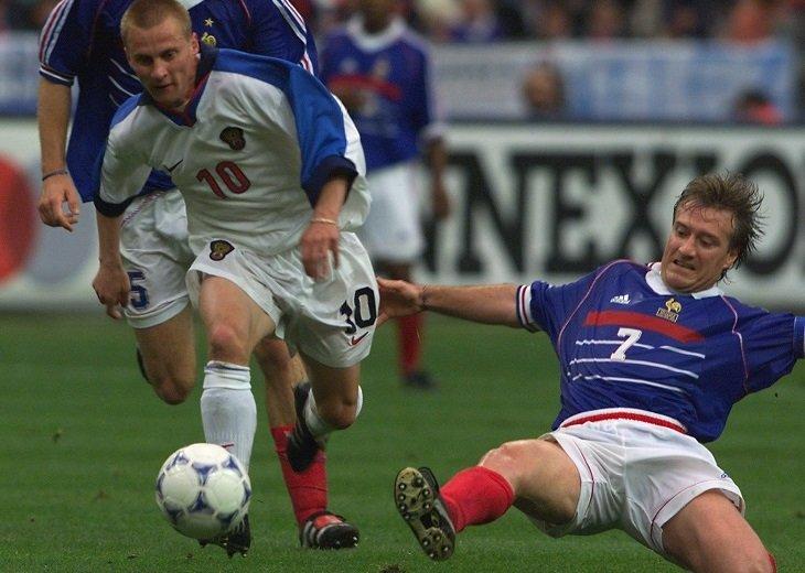 Александр Панов стал героем того матча с Францией - на его счету дубль