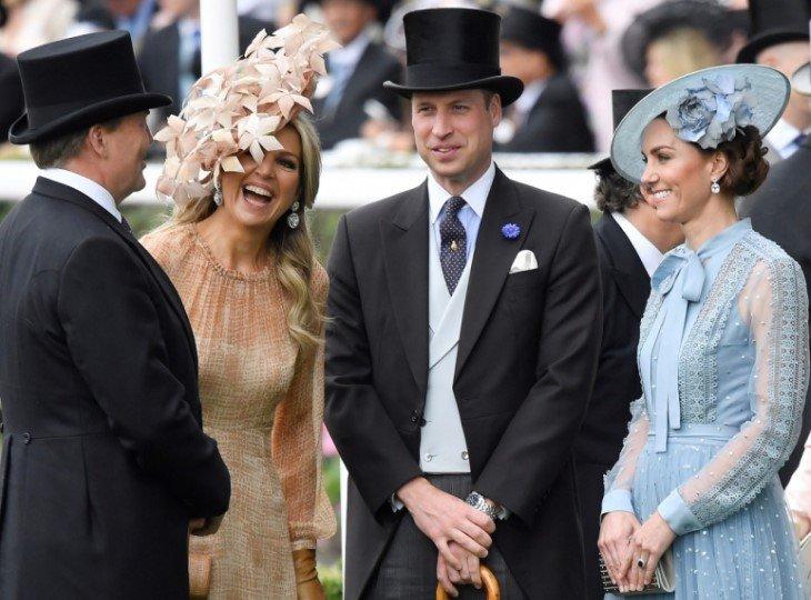 Принц Уильям и герцогиня Кэтрин на Royal Ascot 2019