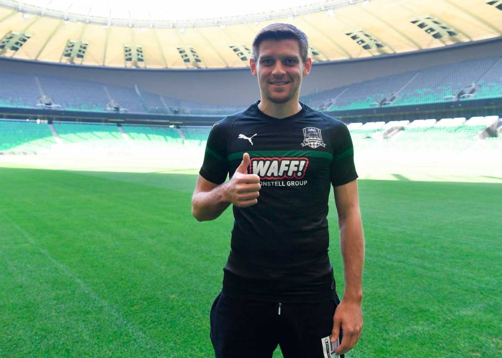 «Краснодар» объявил о трансфере Камболова